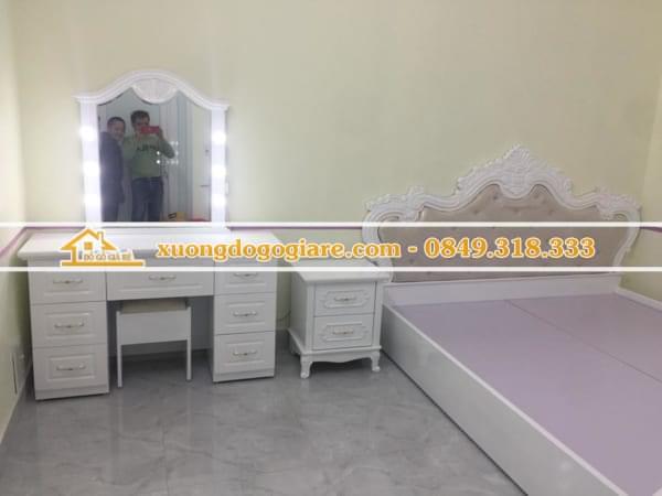 Mẫu Bàn Ghế Trang Điểm DG-0029