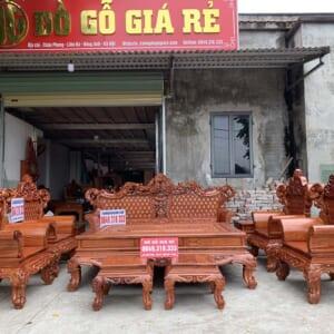 Bộ bàn ghế hoàng gia anh Bắc, Phủ Lý, Hà Nam