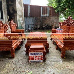 Bàn ghế Hoàng Gia đại chân 14 mẫu mới 2020 anh Quang